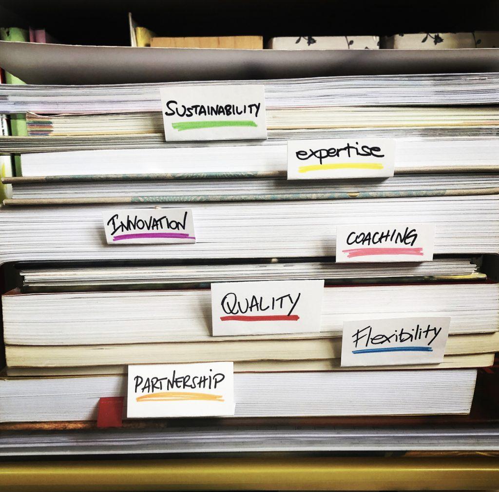 Ricerchiamo innovazione ed eccellenza organizzativa sostenibile attraverso l'apprendimento continuo e il miglioramento organizzativo